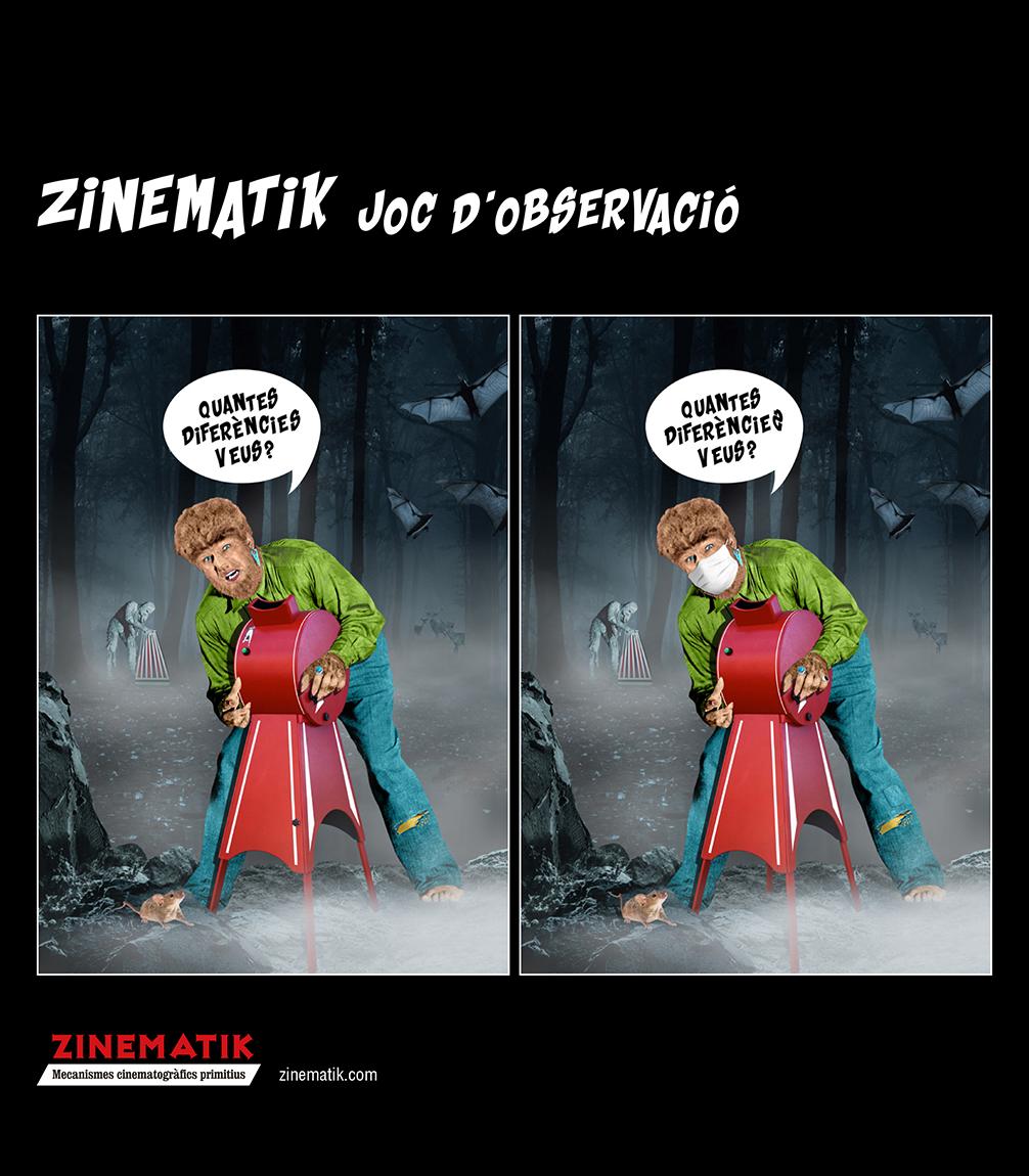 Zinematik · Joc d'observació